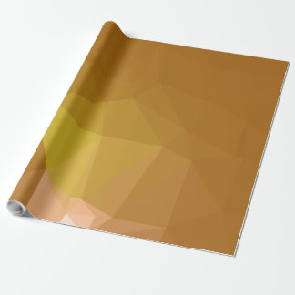 Abstract & Modern Geometric Designs - Happy Nutmeg Wrapping Paper