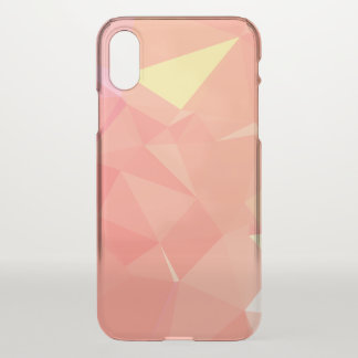 Abstract & Modern Geometric Designs - Life Begins iPhone X Case