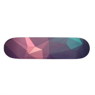 Abstract & Modern Geometric Designs - Sea Life Skateboard Deck