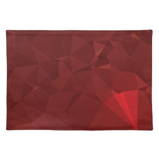 Abstract & Modern Geometric Designs - Spear Head Placemat