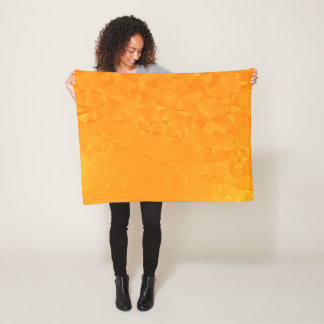 Abstract & Modern Geometric Designs - Sun Kiss Fleece Blanket