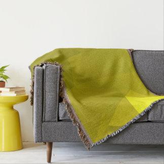 Abstract & Modern Geometric Designs - Sun Valley Throw Blanket