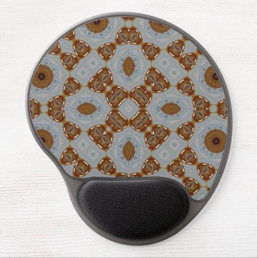 Abstract modern pattern gel mousepads