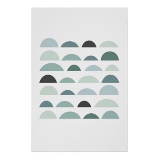 Abstract modern print. Gray wall art minimalist