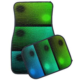 Abstract modern texture. car mat