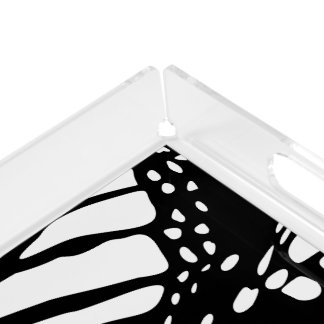 Abstract Monarch Butterfly Design Perfume Tray