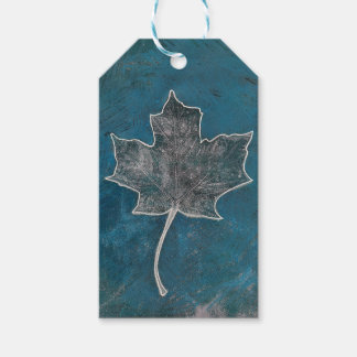 Abstract Monoprint 170311 ART Gift Tag