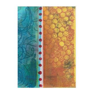 Abstract Monoprint 170315648 Wall Art