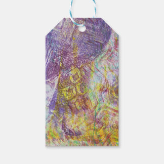 Abstract Monoprint 17056458/1 ART Gift Tag