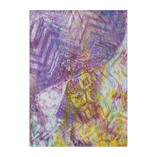 Abstract Monoprint 17056458/1 Wall Art