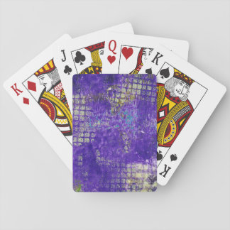 Abstract Monoprint 1711305 Playing Cards