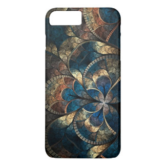Abstract Mosaic Blues iPhone 7 Pluss Case-Mate iPhone Case