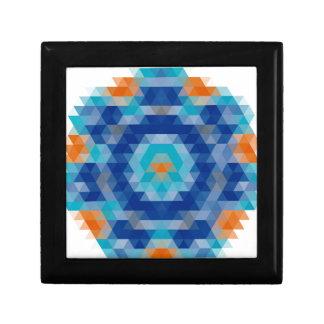 Abstract Mosaic Design Gift Box