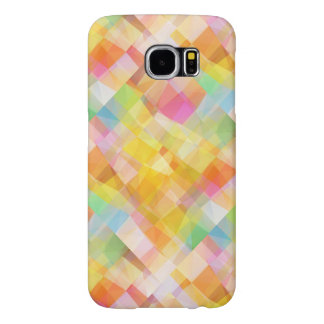 Abstract Mosaic Galaxy S6 Case