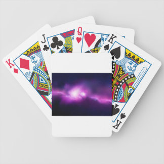 Abstract Mosaic Nebulla with Galactic Cosmic Cloud Bicycle Playing Cards