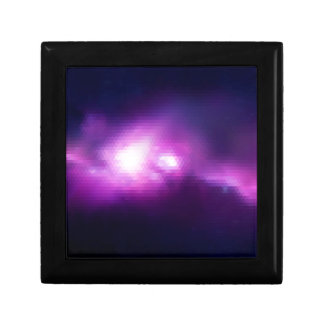 Abstract Mosaic Nebulla with Galactic Cosmic Cloud Gift Box