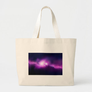 Abstract Mosaic Nebulla with Galactic Cosmic Cloud Large Tote Bag