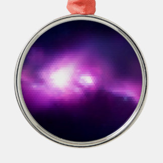 Abstract Mosaic Nebulla with Galactic Cosmic Cloud Metal Ornament