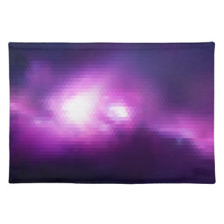 Abstract Mosaic Nebulla with Galactic Cosmic Cloud Placemat