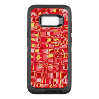 Abstract Mosaic OtterBox Defender Samsung Galaxy S8+ Case