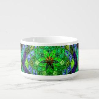 Abstract Mosaic Pattern #2 Chili Bowl