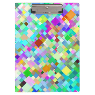 Abstract Mosaic Pattern #4 Clipboard