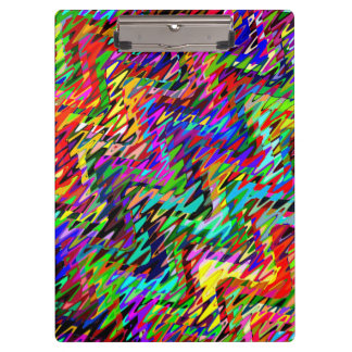 Abstract Mosaic Wave Pattern #8 Clipboard