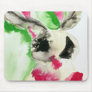 Abstract Moth Mouse Pad