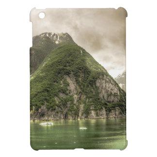 Abstract mountains green landscape Alaska iPad Mini Cover