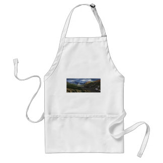 Abstract mountains landscape Alaska Standard Apron