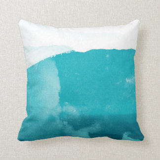 Abstract Mountains Throw Pillow
