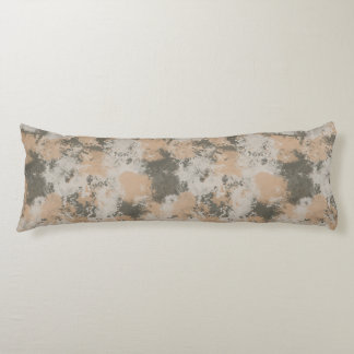 Abstract Mud Puddle Body Pillow