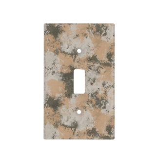 Abstract Mud Puddle Light Switch Cover