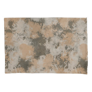 Abstract Mud Puddle Pillowcase
