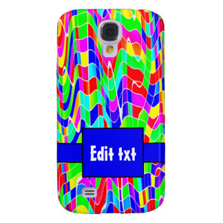 Abstract multi colour HTC vivid / raider 4G cover