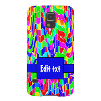Abstract multi colour cases for galaxy s5