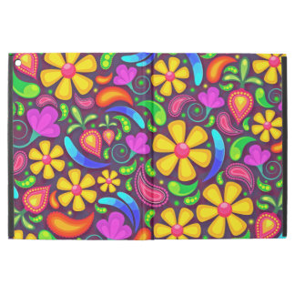 Abstract Multicolored Floral Pattern