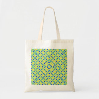 Abstract multicolored pattern bag