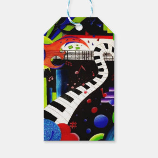 Abstract Music 2013 Pack Of Gift Tags
