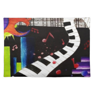Abstract Music 2013 Placemat