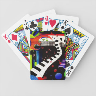 Abstract Music 2013 Poker Deck