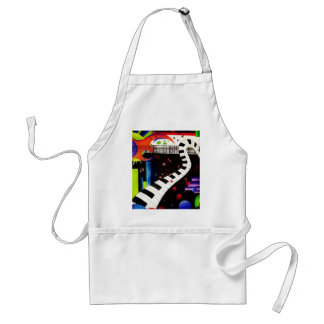 Abstract Music 2013 Standard Apron