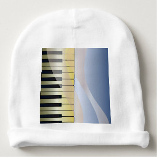 Abstract Music Background Baby Beanie