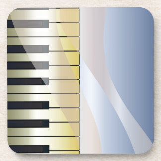 Abstract Music Background Coaster