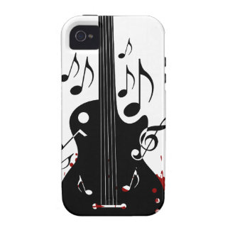 Abstract music background iPhone 4/4S covers