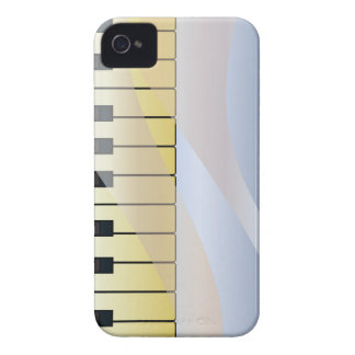 Abstract Music Background iPhone 4 Case-Mate Case