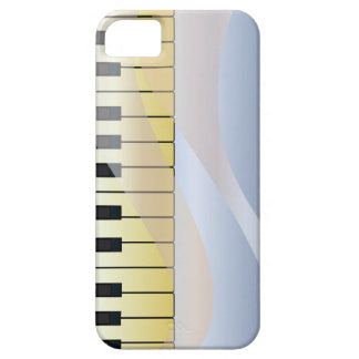 Abstract Music Background iPhone 5 Cover