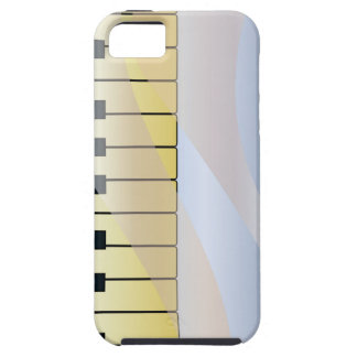 Abstract Music Background iPhone 5 Covers
