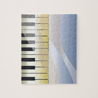 Abstract Music Background Jigsaw Puzzle