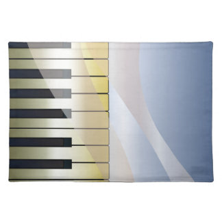 Abstract Music Background Placemat